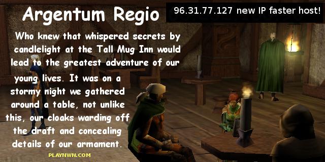 Argentum Regio's City of Dohral NWN server 24x7