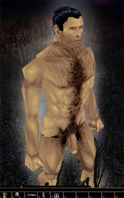 nude adult male