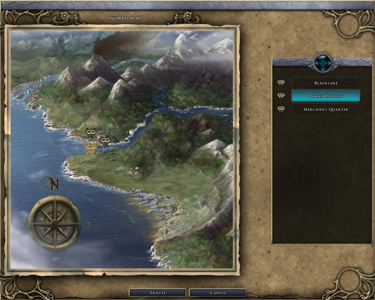 Sunjammer's World Map Guide | The Neverwinter Vault