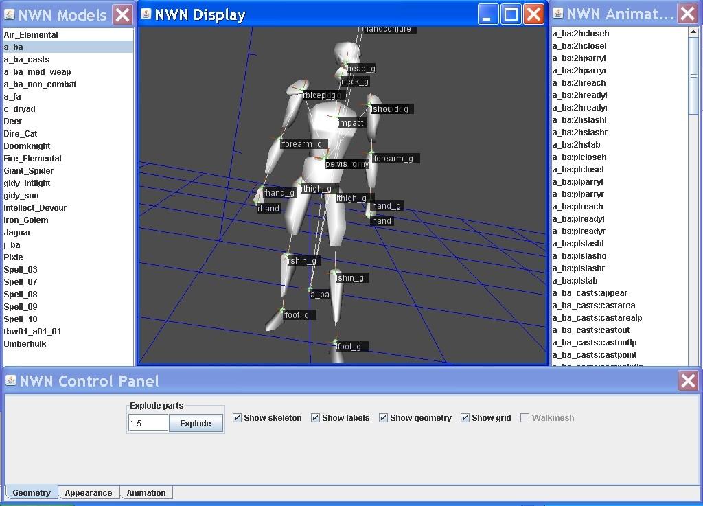 NWN Java 3D Model Viewer   The Neverwinter Vault