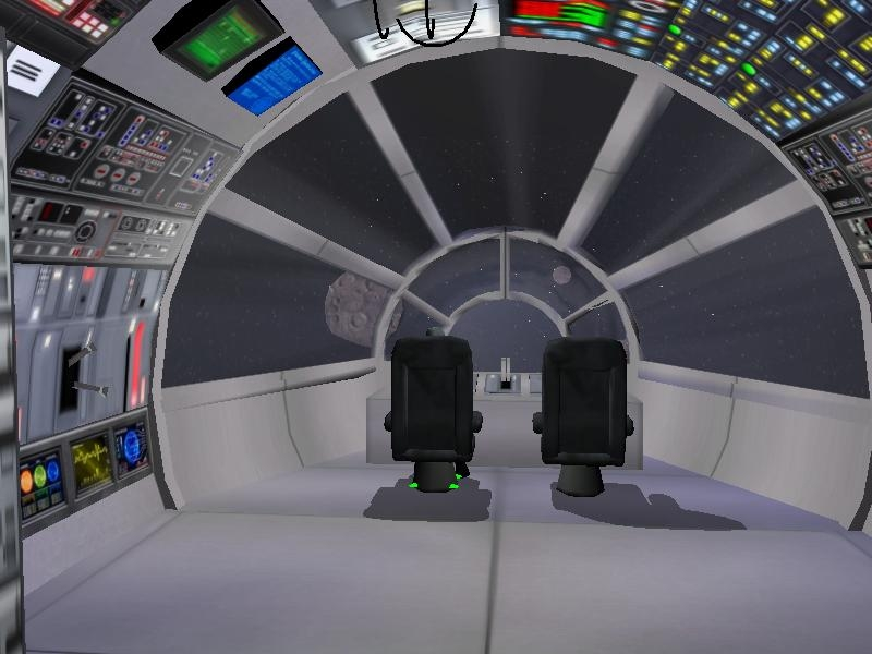 Futuristic City Interior Amp Starship Interior The