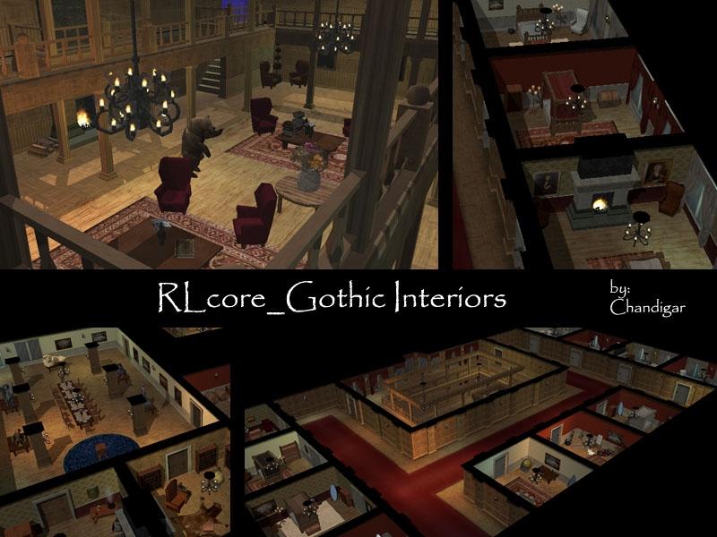 RL Gothic Interior, Estates U0026 Gardens Addon