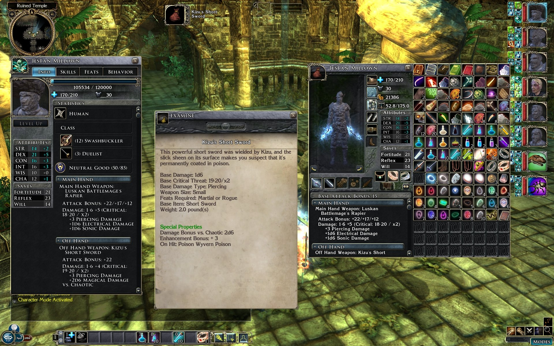 Fire Amp Ice S Big Fonts Ui The Neverwinter Vault