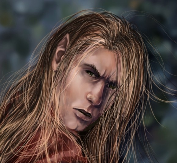Updated Blonde Male Elf W Mussed Hair