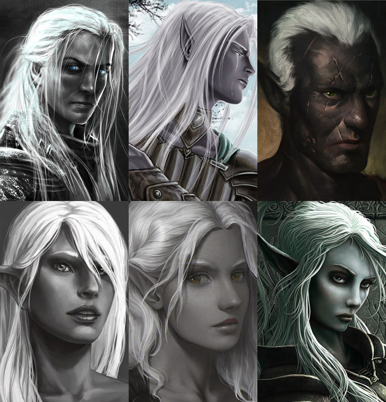The Complete Portrait Pack of Elves | The Neverwinter Vault