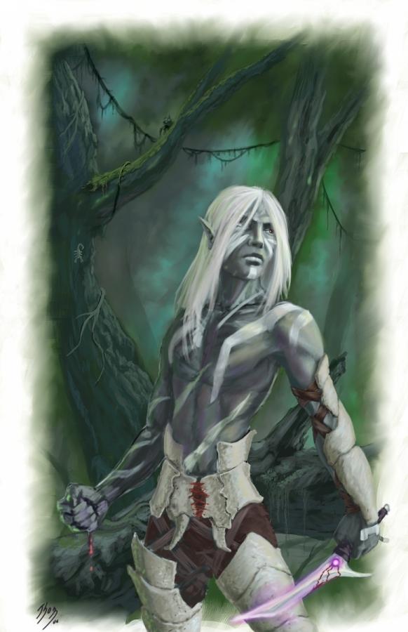 Drow (Druid?) | The Neverwinter Vault