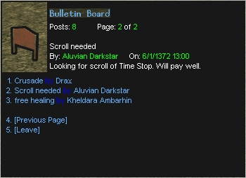 e bulletin board system