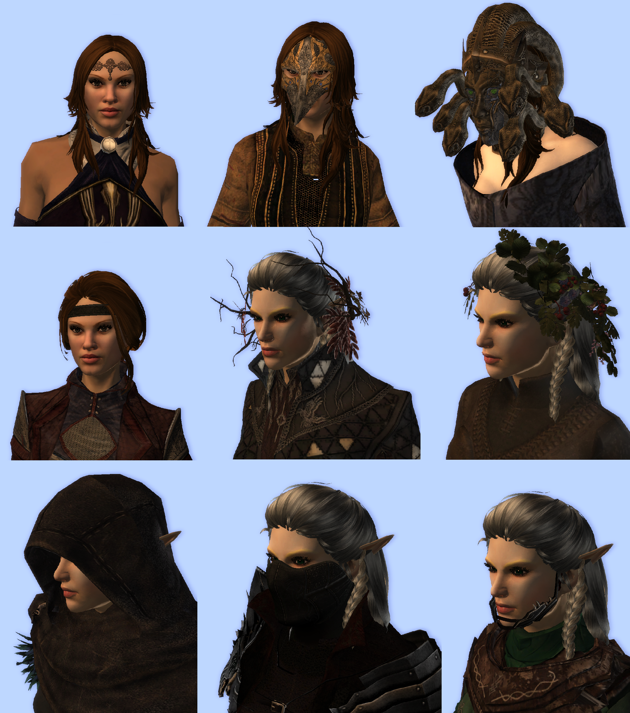 New Beautifull Armors Hairstyles And Weapons Override Version