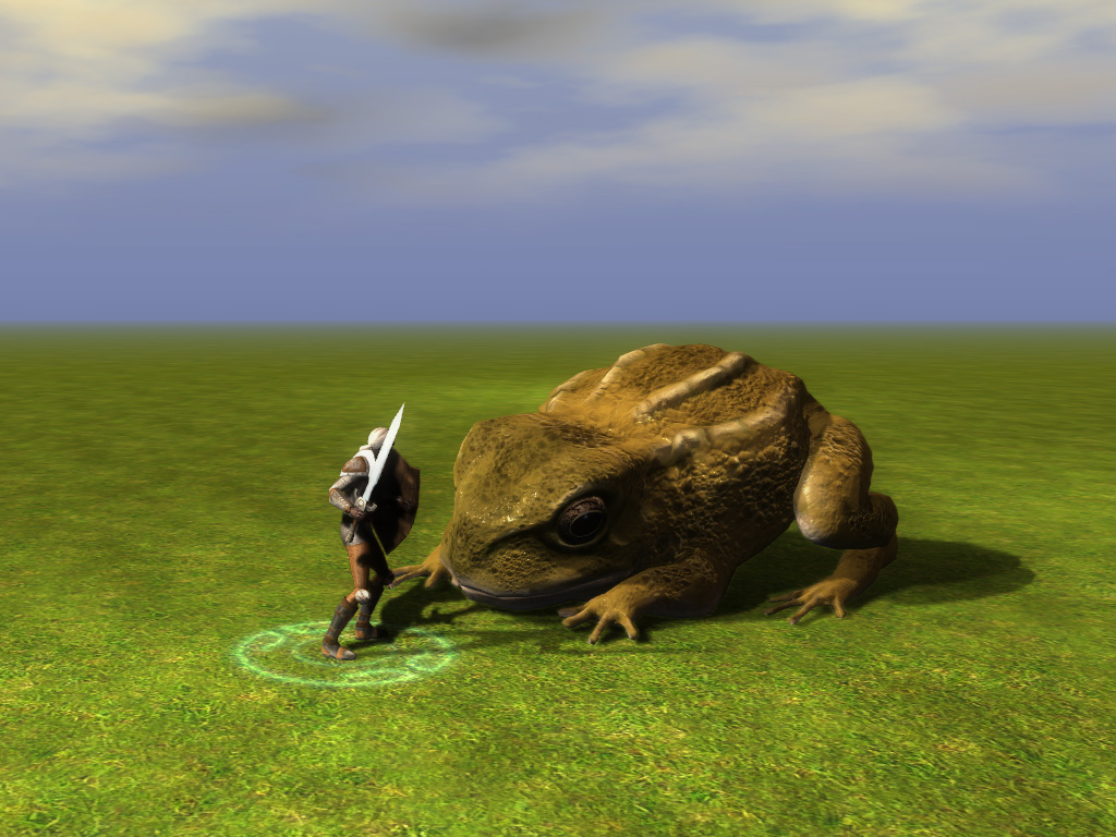 giant frog the neverwinter vault