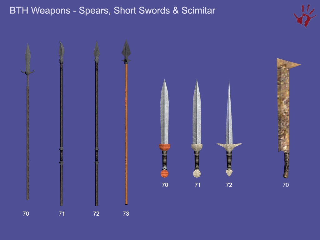 Uruk Hai Lotr BTH Weapon Pack | The ...