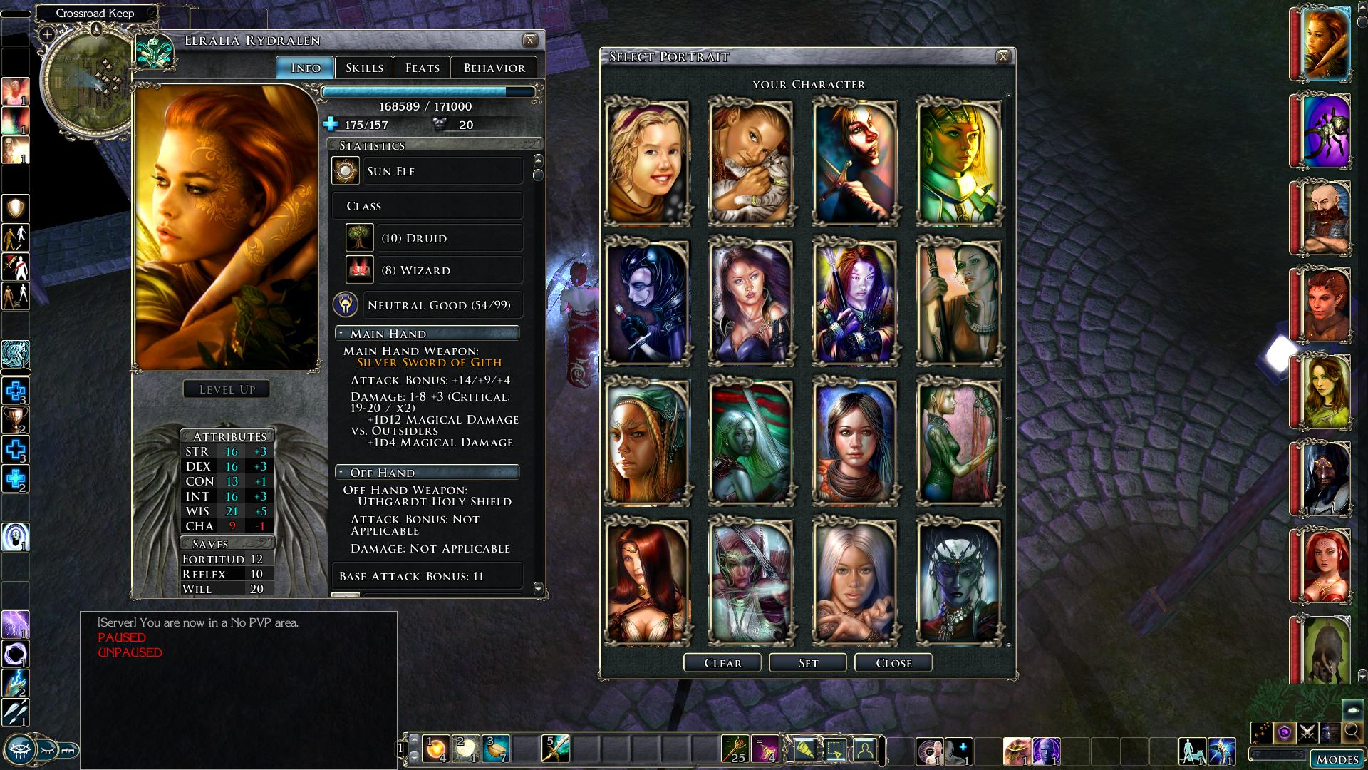 Tchos' HD UI panels and dialogue compilation & expansion