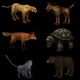 Skinmesh Animals