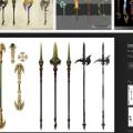 Google Image Result: Fantasy Weapon Concept Art