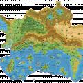 Map of Mystara