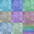 9 largish textures (512x512) against a black background