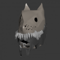 Feral Helmet - Frontal Shot