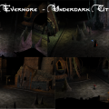 Land of Evermore, Underdark City