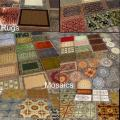 Rugs, Mosaics and Floor Tiles