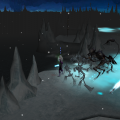 Frozen, dark wastes of Stygia