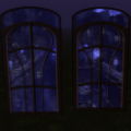 Windows with Glowmapped Background (Using a Glass Filter)