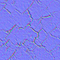 Cracked Earth Normal