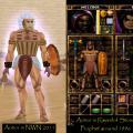 Egyptian leather armor