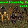 Carcerian's Animal Head pack