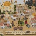 Desert town of El-Jhaffra