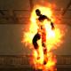 Ignus in the burning flesh